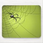 Araña y Web Tapete De Ratones