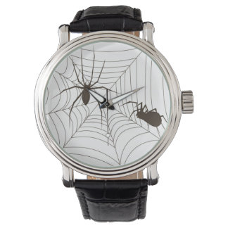 Arañas de arrastre relojes de pulsera