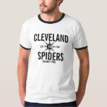 Arañas de Cleveland Playera