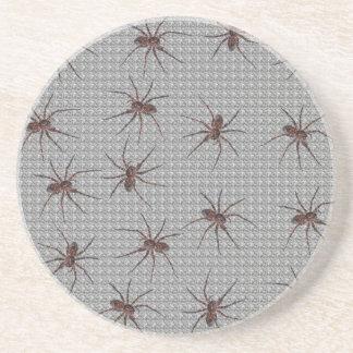 Arañas de lobo posavasos diseño
