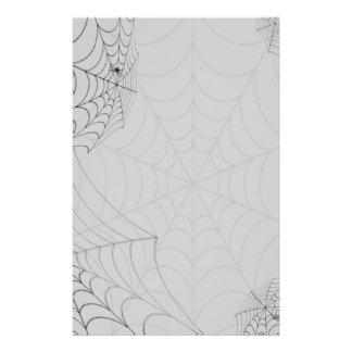 Arañas de Spiderwebs Halloween Papelería De Diseño