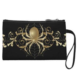 Arañas del oro en negro