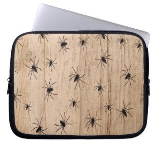 Arañas Halloween Macbook/manga del ordenador Funda Para Portátil