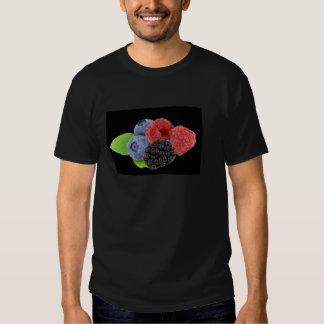 Arándano de la frambuesa de Blackberry Camisas