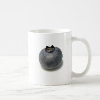 Arándano delicioso taza básica blanca