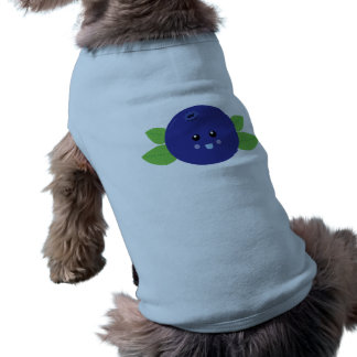 Arándano lindo ropa de perros