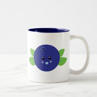 Arándano lindo tazas de café