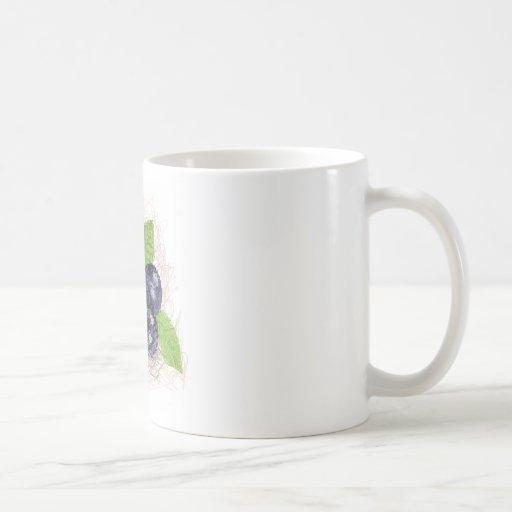 arándano taza clásica