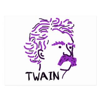 Arándano Twain Postales