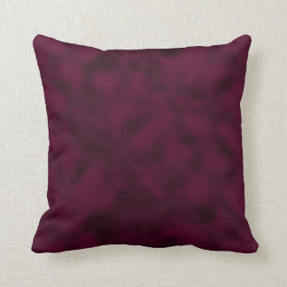 Arándano y negro abigarrados almohadas