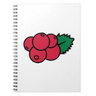 Arándanos Spiral Notebooks