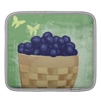 Arándanos frescos mangas de iPad