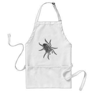 Aranea Avicularia araña cubana negra Delantal
