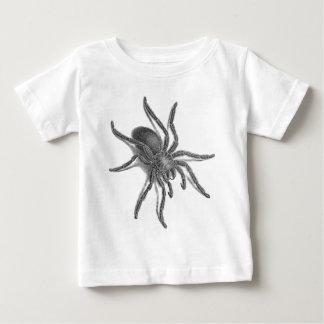 Aranea Avicularia, Black Cuban Spider Baby T-Shirt