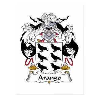 Arango Family Crest Postcard