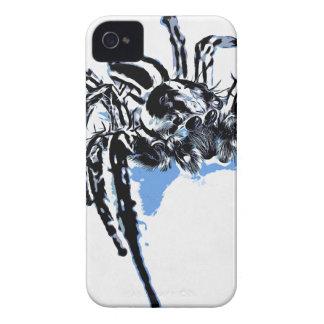 Aranha azul Blaue Spinne Blaue Spinne Araignée ble iPhone 4 Case