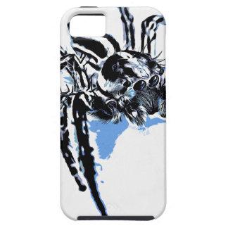 Aranha azul Blaue Spinne Blaue Spinne Araignée ble iPhone SE/5/5s Case