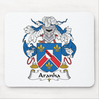 Aranha Family Crest Mouse Pads