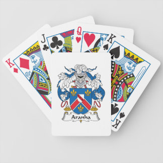 Aranha Family Crest Bicycle Poker Deck