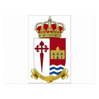 Aranjuez Coat of Arms (Spain) Post Card