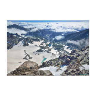 Arapaho Glacier and Boulder Watershed Canvas Print