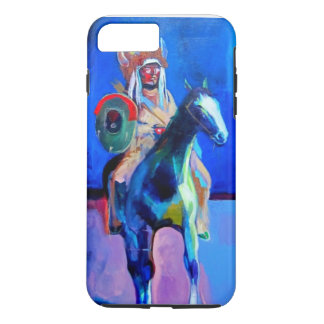 Arapaho on horseback iPhone 7 plus case