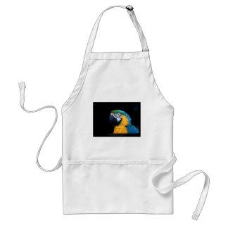 Ararauna del Ara - Macaw Azul-y-amarillo 01 Delantal