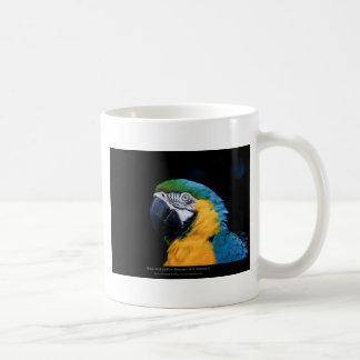 Ararauna del Ara - Macaw Azul-y-amarillo 01 Taza De Café