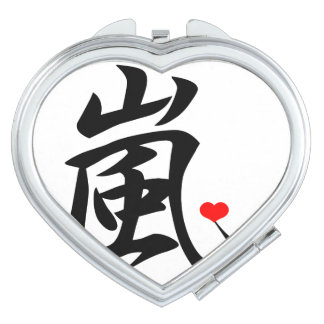 arashi kawaii heart mirror for makeup
