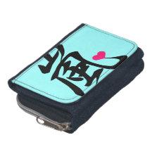 arashi kawaii heart wallet