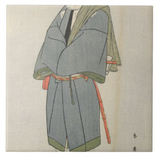 Arashi Ryu_zo as Heiemon, 1795 Ceramic Tile