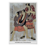 Arashi Ryuzo I de Toshusai Sharaku Posters