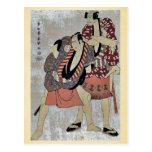 Arashi Ryuzo I de Toshusai Sharaku Tarjeta Postal