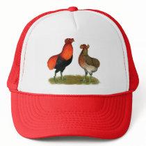 Araucana Red Pair Trucker Hat