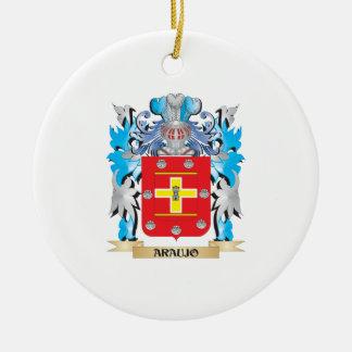 Araujo Coat Of Arms Christmas Tree Ornaments