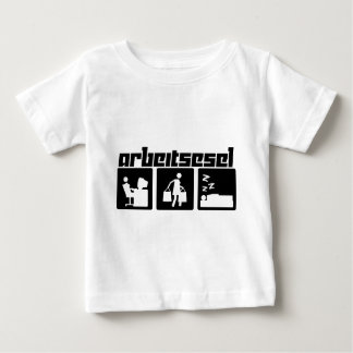 Arbeitsesel Baby T-Shirt