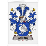 Arbing Family Crest Cards