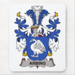 Arbing Family Crest Mouse Pad