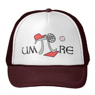 árbitro - árbitro de la matemáticas - regalo gorras de camionero
