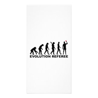 Árbitro de la evolución tarjetas fotográficas personalizadas