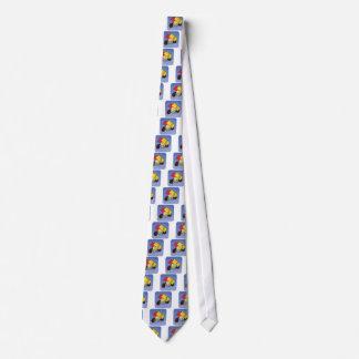 Árbitro del fútbol corbata personalizada