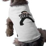 Árbitro del hockey camiseta de perrito