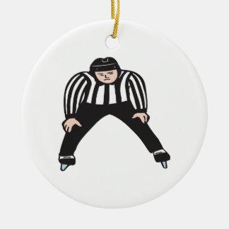 Árbitro del hockey ornatos
