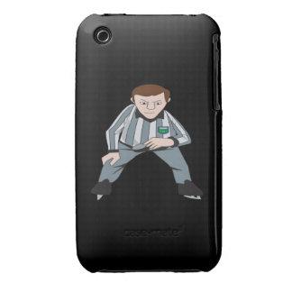 Árbitro del hockey funda para iPhone 3