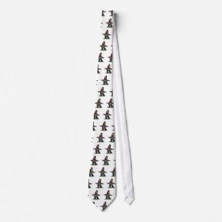 Árbitro grande seguro de la boca corbatas personalizadas
