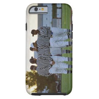 Árbitros del fútbol americano que hablan en campo funda para iPhone 6 tough