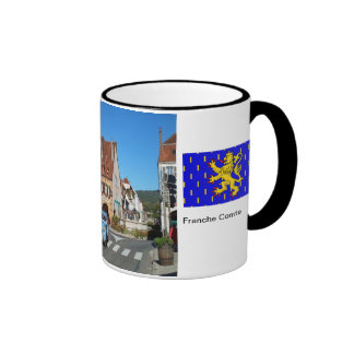 Arbois, centro de ciudad a tazas de café