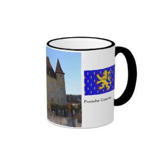 Arbois, chateau and vineyards mug