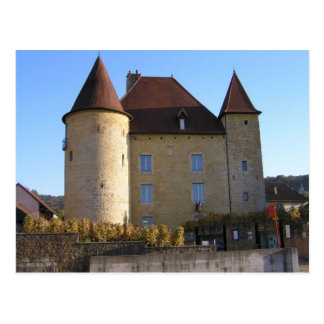Arbois, chateau and vineyards postcard