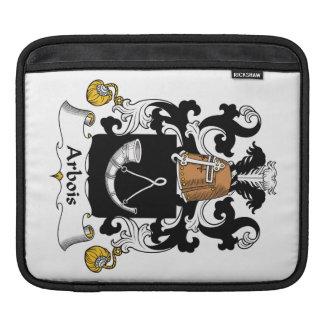 Arbois Family Crest iPad Sleeve